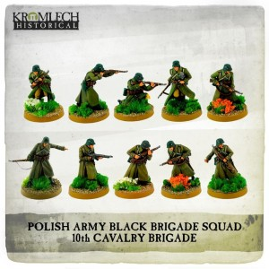 Polish Army Black Brigade Squad (10)