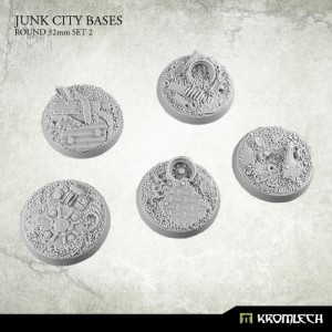 Junk City Bases - round 32mm Set 2