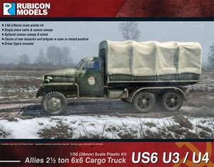 Allies US6 U3/U4 2½ ton 6x6 Truck