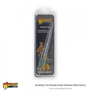 Warlord Sculpting Tool (Double Ended Stainless Steel Carver)