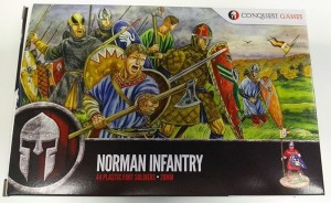 Conuest Games Norman Infantry Box