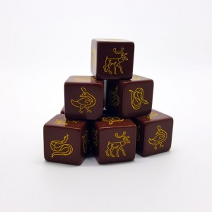 SAGA Dice - Scots / Irish / Picts (8)