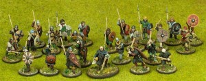 Starter 4 Point Warband - Anglo-Danish