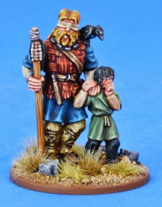 Pagan Priest Four - Blind Seer & Small Boy