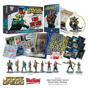Deal I am the Law: Judge Dredd starter game