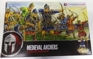 Conuest Games Medieval Archers Box